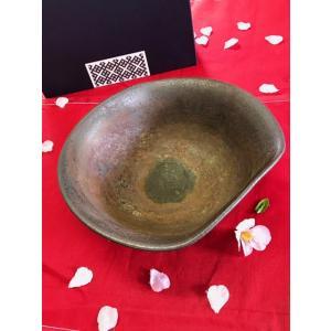 煮物鉢 通常価格4,675円/津軽金山焼 金山焼 陶器 日本製 手作り ギフト 記念品 プレゼント 贈り物 おしゃれ 器 焼締 鉢 深鉢 大きい 食器  |kanayamayaki