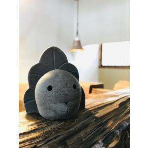 「須恵器」金魚ねぶたん/津軽金山焼 金山焼 陶器 ギフト 記念品 プレゼント 贈り物 おしゃれ 日本製 手作り ねぶた かわいい 置き物 インテリア|kanayamayaki