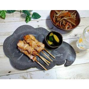 「須恵器」クラウディプレート/津軽金山焼 金山焼 陶器 日本製 手作り プレゼント 贈り物 おしゃれ 器 焼締 黒 皿 雲型 プレート かわいい|kanayamayaki