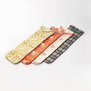 ≪太鼓の里 浅野≫太鼓匠・この道400年の浅野太鼓 バチ袋(金襴)|kanazawa-honpo