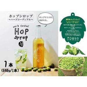 ≪BEER EXPERIENCE≫ホップシロップ〜ハーブコーディアル〜(640g×1本)|kanazawa-honpo