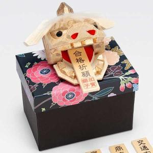 加賀獅子頭 知田工房 出産祝や合格祈願アイテム 加賀獅子頭一刀彫ニュー獅子頭|kanazawa-honpo
