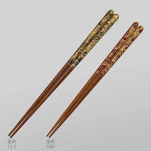 ≪箔一≫金の箸 銀の箸 金糸(M)|kanazawa-honpo