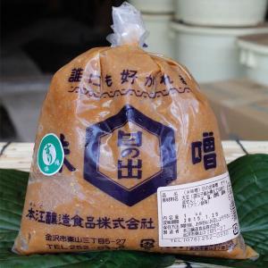 ≪本江醸造食品≫日の出すり味噌 1kg|kanazawa-honpo
