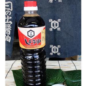 本江醸造食品 日の出醤油本造り 1リットル|kanazawa-honpo