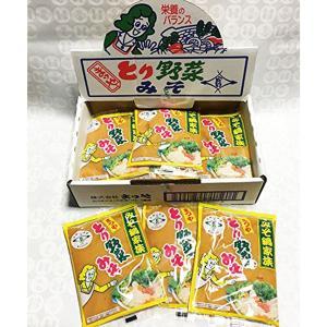 本江醸造食品 まつや とり野菜みそ1箱12袋入り(200g×12袋)