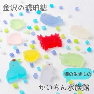 ≪石川屋本舗≫かいちん 水族館(8個と金平糖)【石川のお土産】【ギフト】|kanazawa-honpo