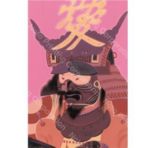 城下町金沢本舗 西のぼる武将コレクション「日の本の武士(もののふ)たち」(ポストカード8枚セット) kanazawa-honpo 04