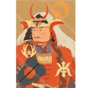 城下町金沢本舗 西のぼる武将コレクション「日の本の武士(もののふ)たち」(ポストカード8枚セット) kanazawa-honpo 05