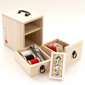 ≪目細八郎兵衛商店≫桐箪笥裁縫セット kanazawa-honpo