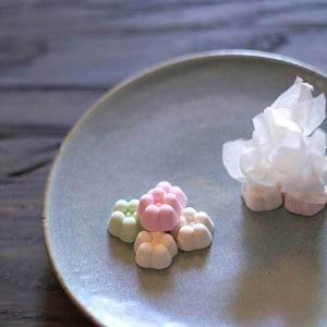≪落雁諸江屋≫伝統の干菓子 花うさぎ巾着 3個入り kanazawa-honpo