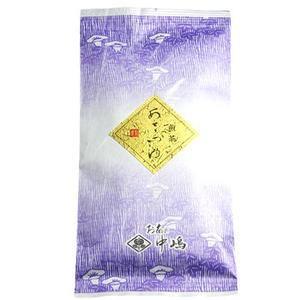 中嶋茶舗 まろやかな味で飲みやすい煎茶 あさつゆ 100gx1|kanazawa-honpo