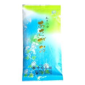 中嶋茶舗 まろやかな味で飲みやすい煎茶あさつゆ あさがお 100gx1|kanazawa-honpo