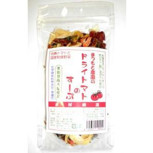 能登製塩 奥能登海水塩使用 まつもと農園のドライトマトのすーぷ 30g|kanazawa-honpo