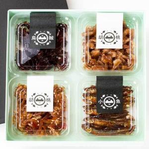 大畑の佃煮 醤油の町 金沢・大野から 昔ながらの釜炊き詰合せ 4個詰【ギフト】|kanazawa-honpo