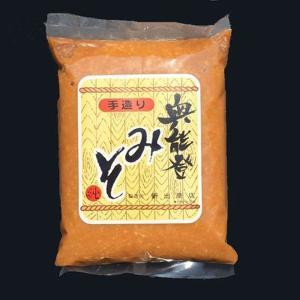 新出商店 天然醸造で自家製米麹使用 国産だから安心安全奥能登味噌 1kg袋入り|kanazawa-honpo