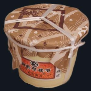 新出商店 天然醸造で自家製米麹使用 国産だから安心安全奥能登味噌 10kgタル入り|kanazawa-honpo
