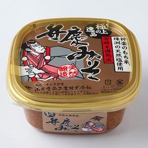 山木食品工業 極上の逸品 弁慶味噌 カップ入り 500g|kanazawa-honpo