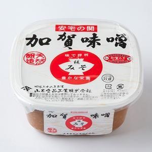 山木食品工業 国産だから安心 味で評判 豊かな栄養 加賀味噌 カップ入り 500g|kanazawa-honpo