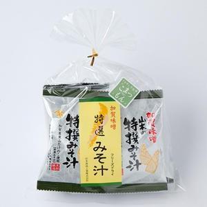 山木食品工業 即席みそ汁(フリーズドライ)竹の子入5個入キンチャク|kanazawa-honpo