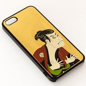 アートジャパネスク (iPhoneSE・5S対応)漆器iPhoneケース/iPhoneカバー 写楽|kanazawa-honpo|02