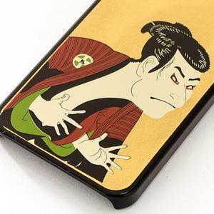 アートジャパネスク (iPhoneSE・5S対応)漆器iPhoneケース/iPhoneカバー 写楽|kanazawa-honpo|03