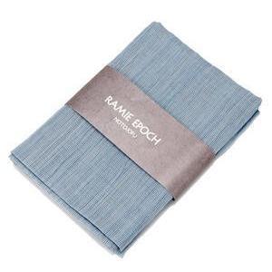 ≪山崎麻織物工房≫(能登上布)サマーストールストライプ柄 Mサイズ|kanazawa-honpo