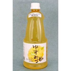 ≪柚子みつ本舗≫柚子と蜂みつ100%天然・無添加 健康清涼飲料水ゆずみつ100(1000mlx1)|kanazawa-honpo
