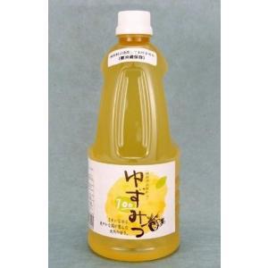 柚子みつ本舗 柚子と蜂みつ100%天然・無添加 健康清涼飲料水ゆずみつ100 (1000ml x 4本)