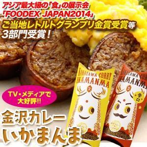 銭福屋 金沢カレーいかまんま 1箱(約200g)|kanazawa-honpo