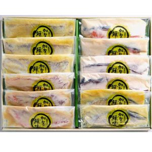 銭福屋 加賀の鮮味(うまみ)漬魚12切セット THZ70【お中元】【お歳暮】【ギフト】|kanazawa-honpo