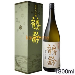 鶴齢 かくれい 純米大吟醸 1800ml|kanazawa-saketen