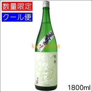 加賀鳶 かがとび 夏純米 1800ml 要冷蔵|kanazawa-saketen