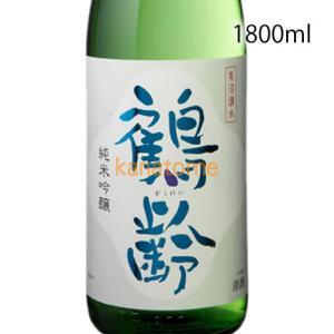 鶴齢 かくれい 純米吟醸 1800ml|kanazawa-saketen