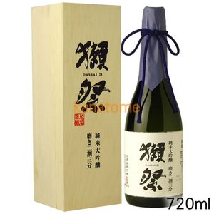 獺祭 日本酒 磨き二割三分 純米大吟醸 720ml 木箱|kanazawa-saketen