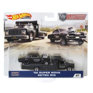 HW チームトランスポートChevy Super Nova 66 with Retro Rig(マテ...
