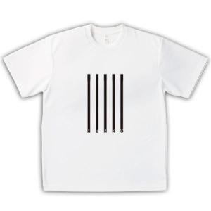四国遍路 男女兼用Tシャツ オリジナルデザイン HENRO(モノクロ)|kanbankobo
