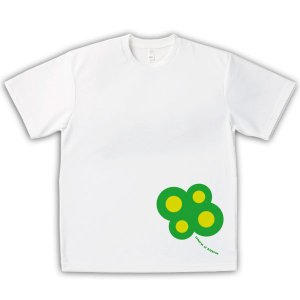 四国遍路 男女兼用Tシャツ オリジナルデザイン 四つ葉のクローバー88|kanbankobo