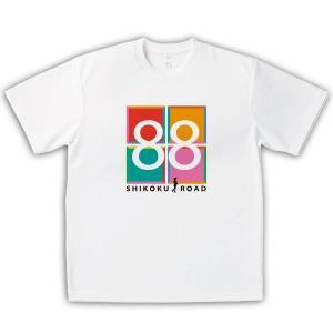 四国遍路 男女兼用Tシャツ オリジナルデザイン SHIKOKU ROAD 88|kanbankobo