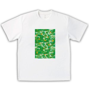 みかん 男女兼用Tシャツ オリジナルデザイン 迷彩|kanbankobo