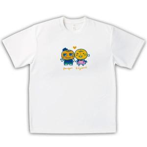 みかん 男女兼用Tシャツ オリジナルデザイン かんきつ夫婦|kanbankobo