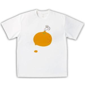 お土産Tシャツ●蛇口からみかんジュース(男女兼用)|kanbankobo
