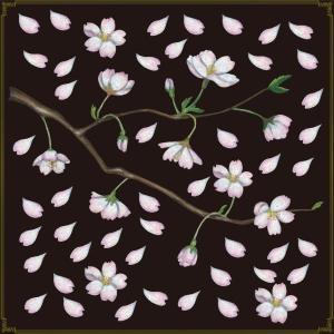 シール 桜 フラワーショップ 装飾 デコレーション チョークアート 窓 黒板 看板 ステッカー【最低購入数量3枚〜】|kanbanshop