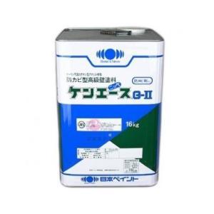 【1液弱溶剤】日本ペイント株式会社 ケンエースG2 白 16kg(送料別途)(個人様宅配送不可)|kanbanzairyou