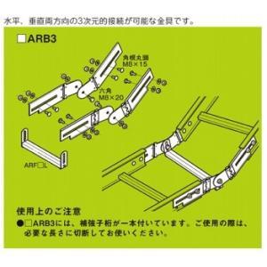 ネグロス電工 子桁付・上下左右自在継ぎ金具 10ARB3 kanbanzairyou