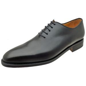 Berwick バーウィック 靴 メンズ ビジネスシューズ ホールカット 3267 ブラック 本革|kanda-mimatsu