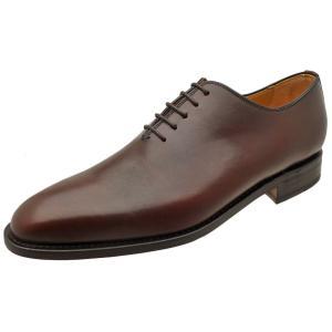 Berwick バーウィック 靴 メンズ ビジネスシューズ ホールカット 3267 ダークブラウン ...