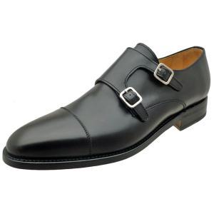 Berwick バーウィック 靴 メンズ ビジネスシューズ ダブルモンクストラップ 3268 ブラック 本革|kanda-mimatsu