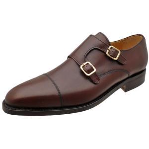 Berwick バーウィック 靴 メンズ ビジネスシューズ ダブルモンクストラップ 3268 ダークブラウン 本革|kanda-mimatsu