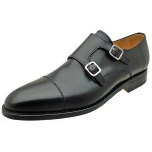 Berwick バーウィック 靴 メンズ ビジネスシューズ ダイナイトソール ダブルモンクストラップ 3268 ブラック 本革|kanda-mimatsu
